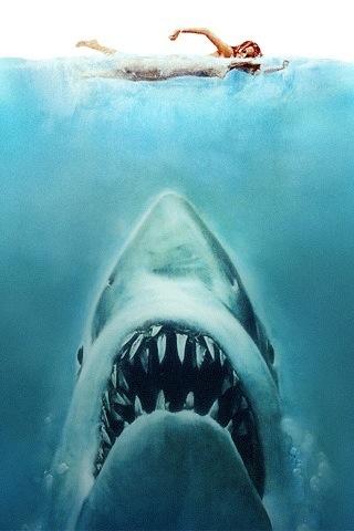 Jaws iPhone Wallpaper