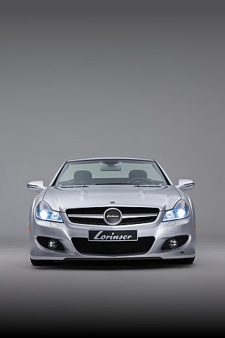 Lorinser Mercedes iPhone Wallpaper