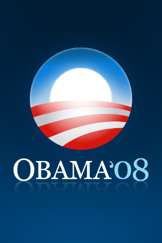 Obama Logo iPhone Wallpaper
