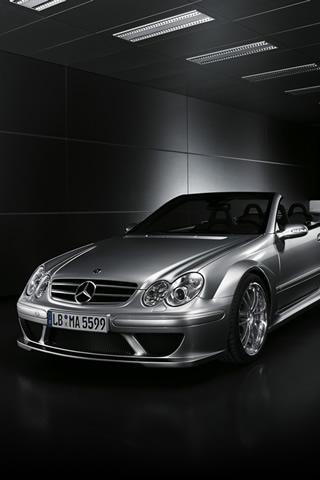 Mercedes Convertible iPhone Wallpaper