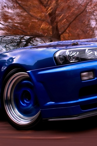 Nissan Skyline iPhone Wallpaper