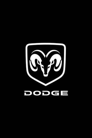 Dodge Logo iPhone Wallpaper