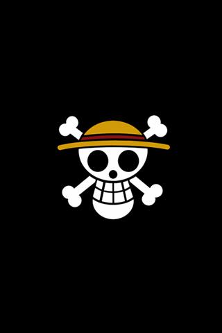 Skull Logo iPhone Wallpaper