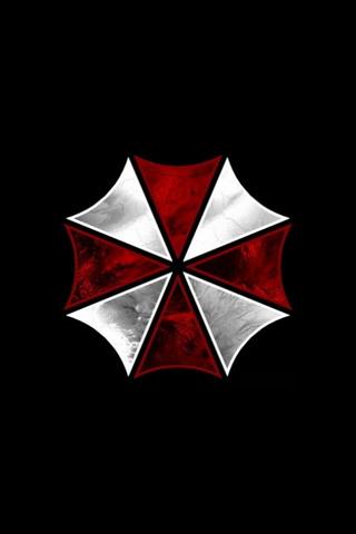 Umbrella Logo iPhone Wallpaper