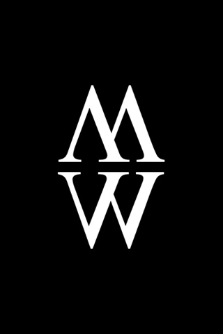 M W logo iPhone Wallpaper