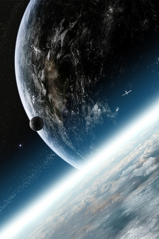 outer space wallpapers. Outer Space iPhone Wallpaper
