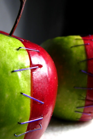 Apples + Operation iPhone Wallpaper