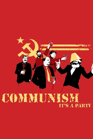 Communism Party iPhone Wallpaper
