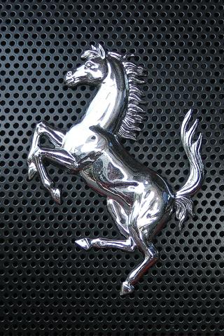 Ferrari Logo iPhone Wallpaper