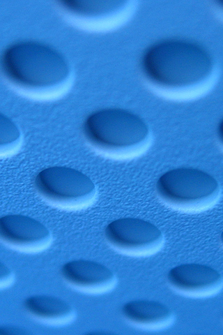 Blue Dots iPhone Wallpaper