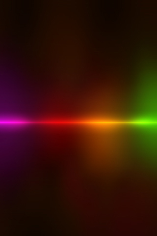 Light Line iPhone Wallpaper