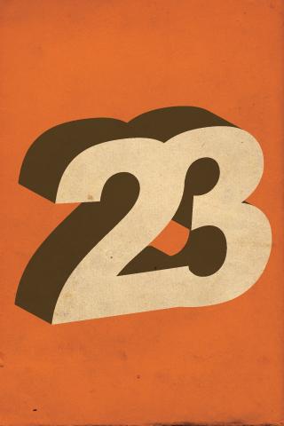 Twenty Three iPhone Wallpaper