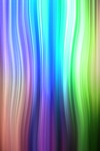Colorful Waves iPhone Wallpaper