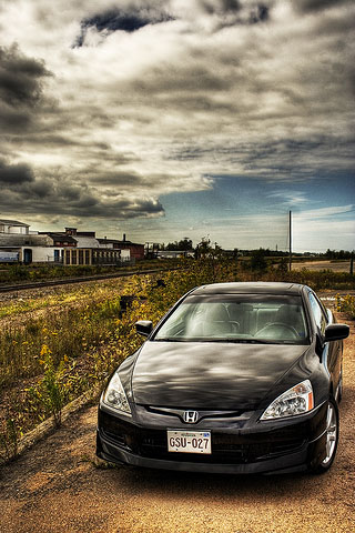 обои для iphone 5 honda accord 7