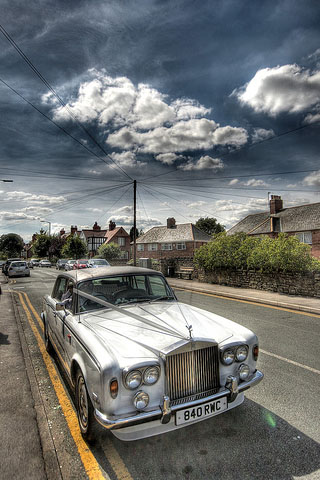 Rolls Royce iPhone Wallpaper