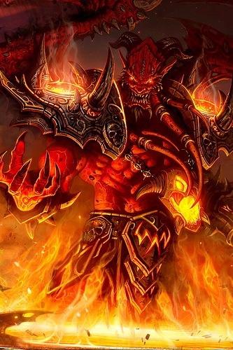 Diablo Painting iPhone Wallpaper