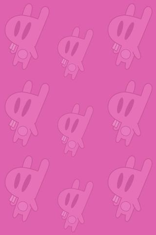 Bunny Pattern iPhone Wallpaper