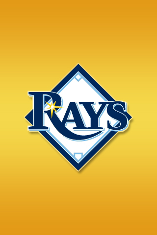 Tampa Bay Devil Rays iPhone Wallpaper