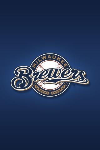 Milwaukee Brewers iPhone Wallpaper