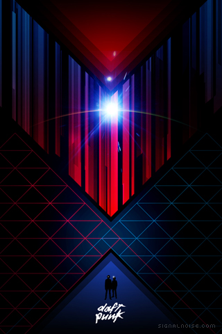Daft Punk iPhone Wallpaper