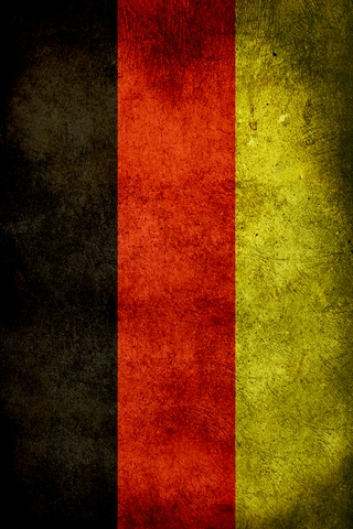 Gremany Flag iPhone Wallpaper