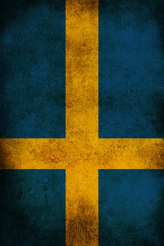 Sweden Flag iPhone Wallpaper