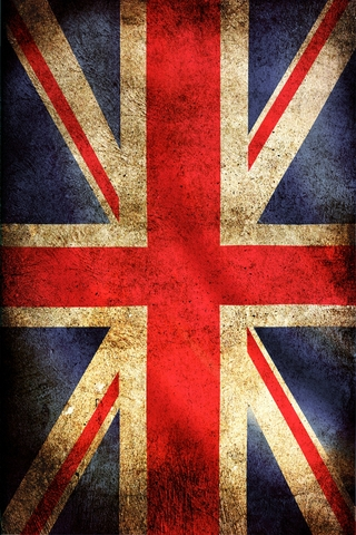 British Flag iPhone Wallpaper