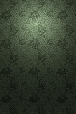 Victorian Green iPhone Wallpaper