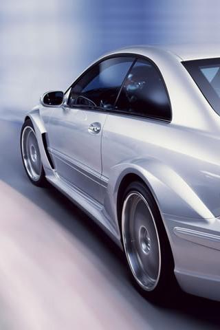 Mercedes Widebody iPhone Wallpaper