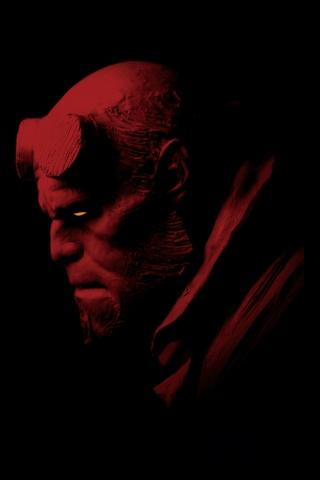 Hellboy iPhone Wallpaper