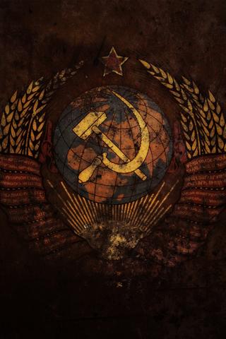 Russian Grunge iPhone Wallpaper