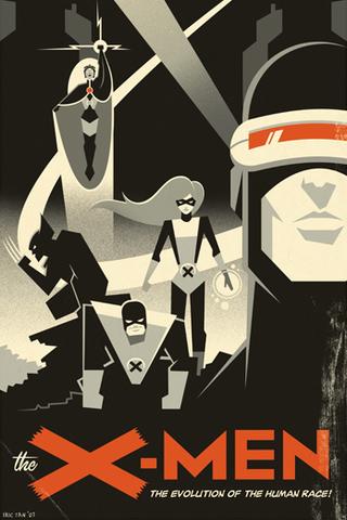 The X-men iPhone Wallpaper