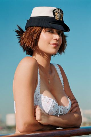 Catherine Bell iPhone Wallpaper