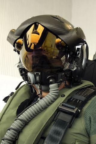 F35 Helmet iPhone Wallpaper
