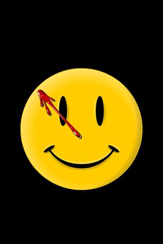 Watchmen Logo iPhone Wallpaper