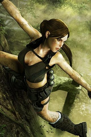 Tomb Raider iPhone Wallpaper