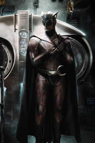 Nite Owl Watchmen iPhone Wallpaper
