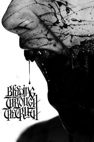Bleeding Through The Rug iPhone Wallpaper