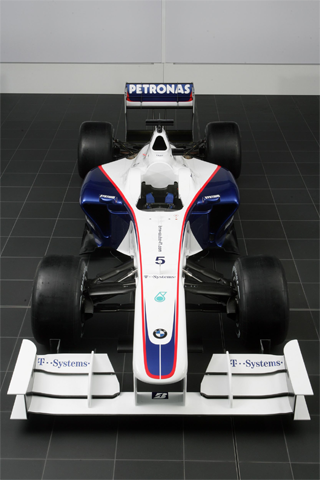 2009 BMW Formula One iPhone Wallpaper