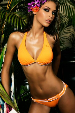 Dayana Mendoza iPhone Wallpaper
