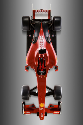 Ferrari F60 Formula One iPhone Wallpaper