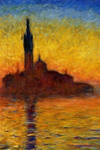 Monet - Venice iPhone Wallpaper