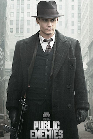 Public Enemies Johnny Depp Iphone Wallpaper Idesign Iphone