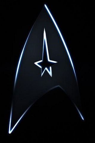 Star Trek Badge Logo iPhone Wallpaper