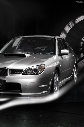 Subaru Impreza 2008 iPhone Wallpaper