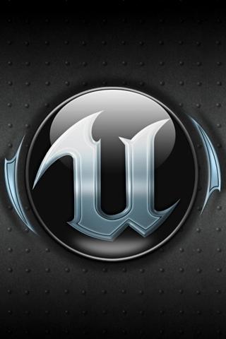 Unreal Tournament Logo iPhone Wallpaper