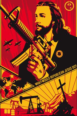 Republican Jesus Iphone Wallpaper Idesign Iphone