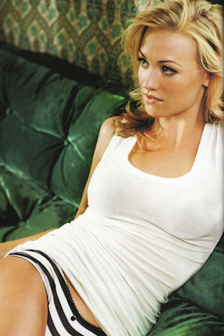 Yvonne Strahovski iPhone Wallpaper