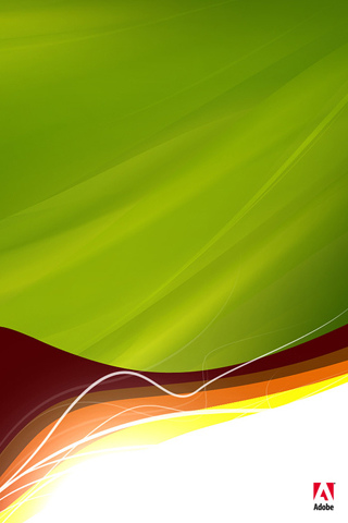 Adobe Abstract iPhone Wallpaper