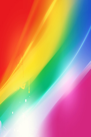 Abstract Rainbow iPhone Wallpaper